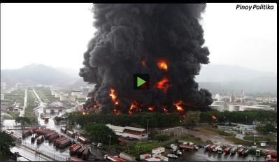 venezuela fire