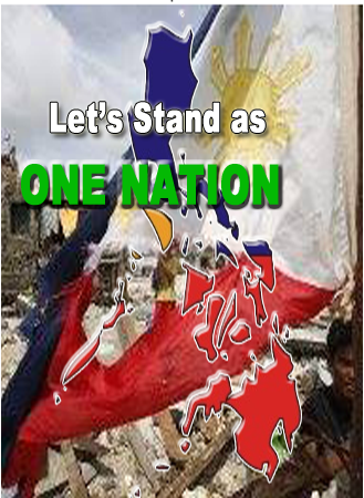 UNITE AND STAND AS ONE NATION