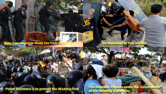 In the Philippine it is a crime for being a Poor