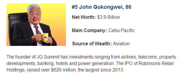 henry sy and john gokongwei Statement of the problem  henry sy and john gokongwei continuity ii  objectives  to determine the way on how their business well continue without  breaking.