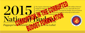 corrupted budget