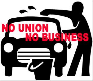 NO UNION, NO BUSINESS