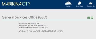 from the website marikina.gov.ph